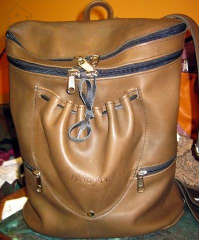 sac à dos sur-mesure en cuir